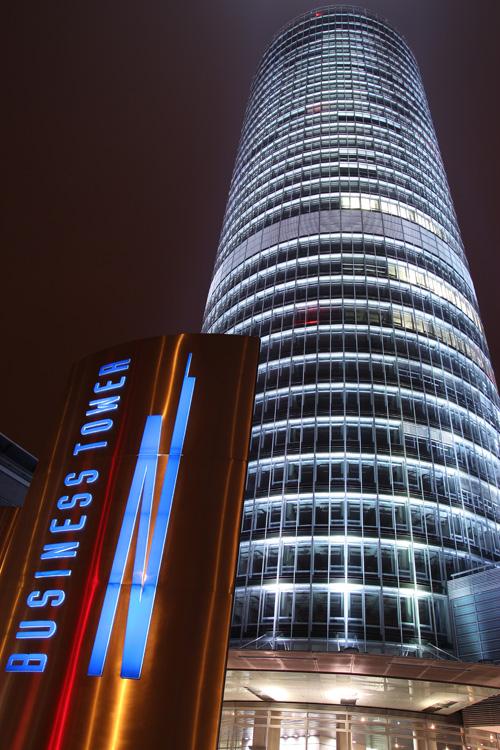 Bild vom Business Tower in Nürnberg.
