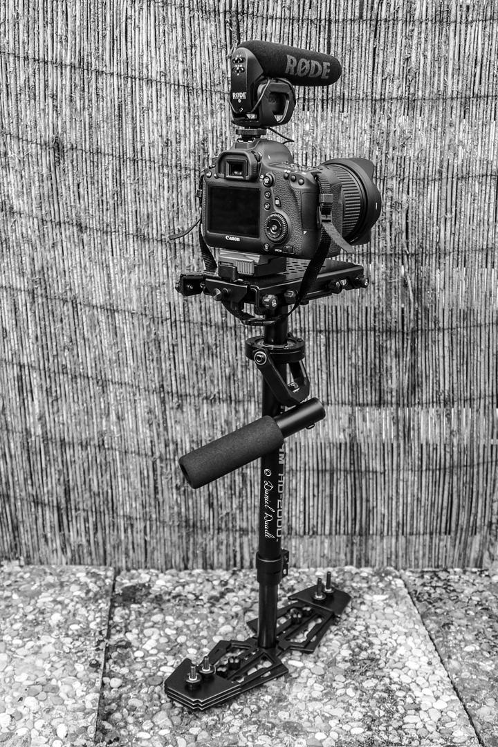 Das Schwebestativ ermöglicht sehr schöne Kamerafahrten.