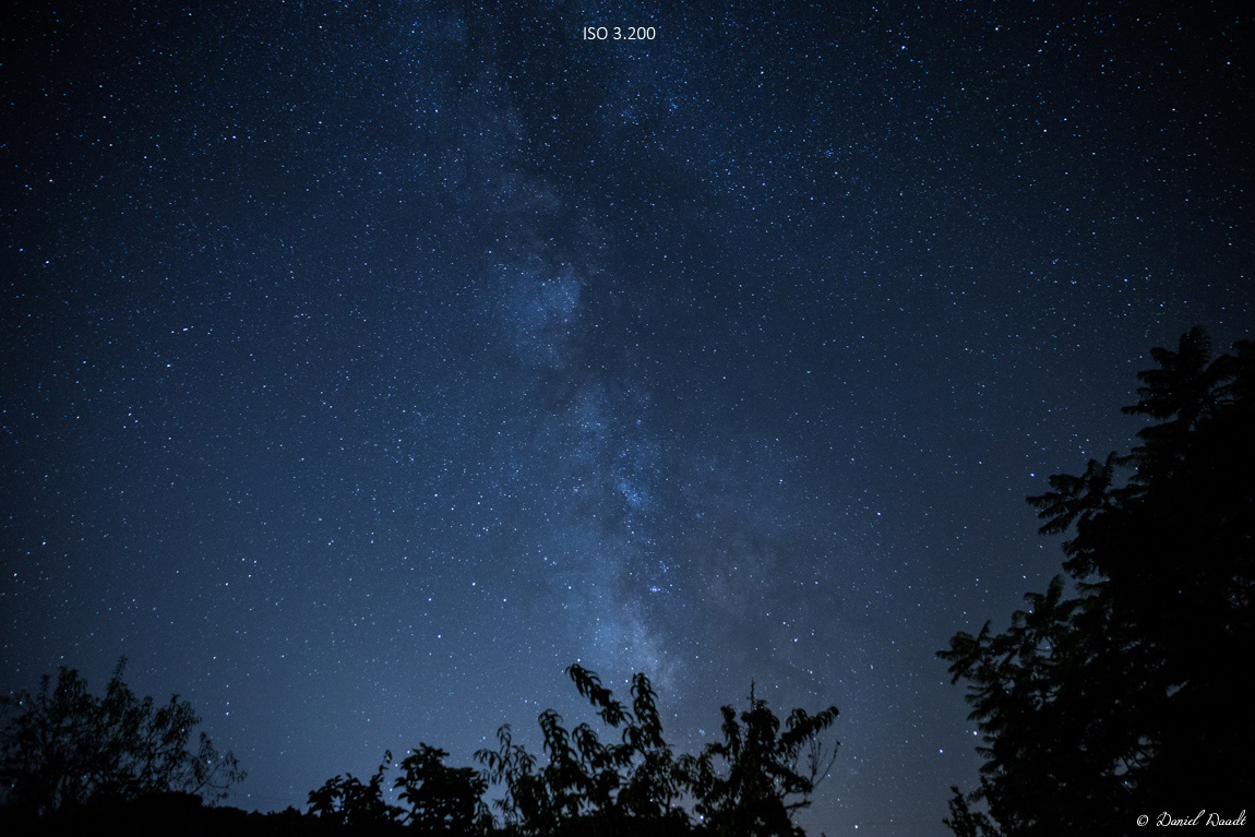 Viele Sterne sind dank dunklem Himmel in Mallorca zu sehen.