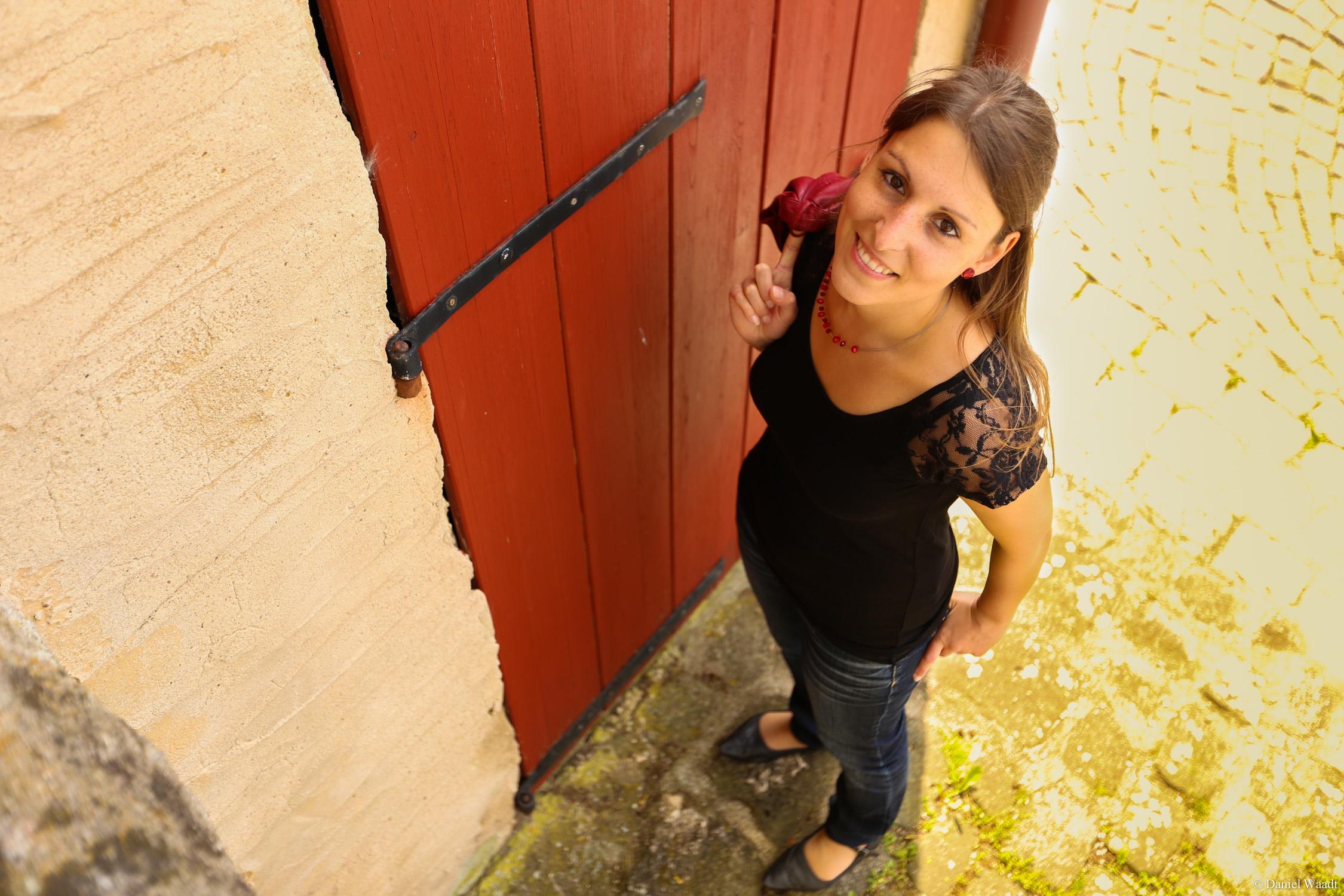 Portraits mit Super-Weitwinkel-Objektiv