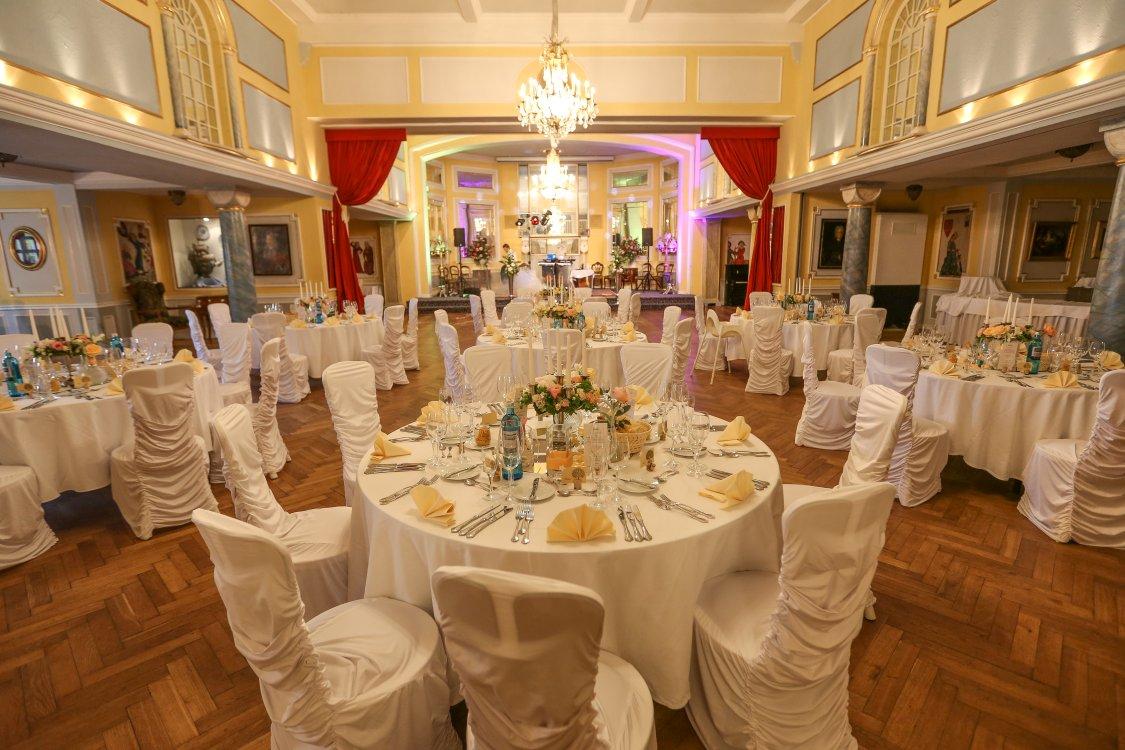 Hochzeitsfeier Schloss Thurn Romantiksaal