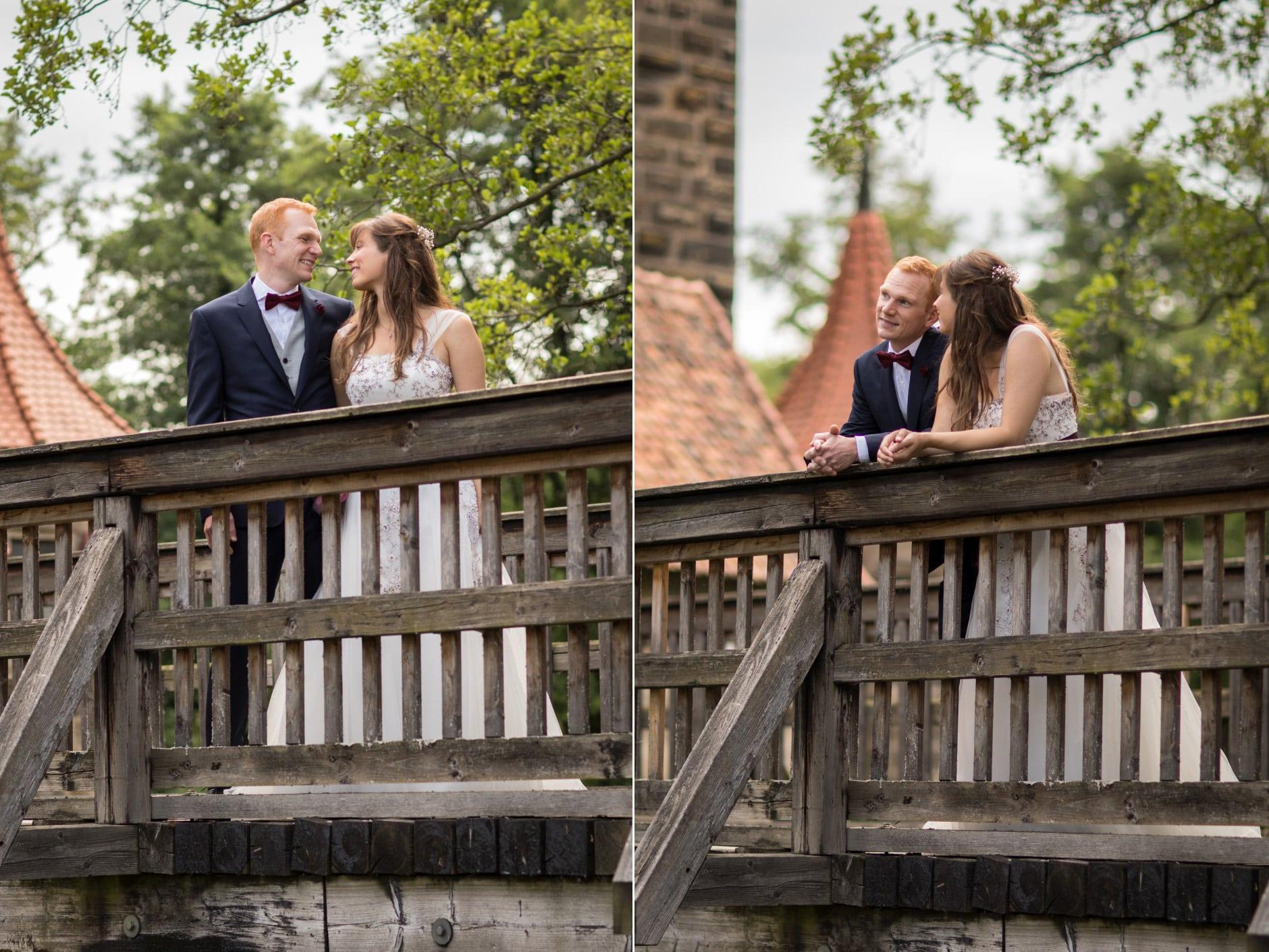 Brautpaar Brücke