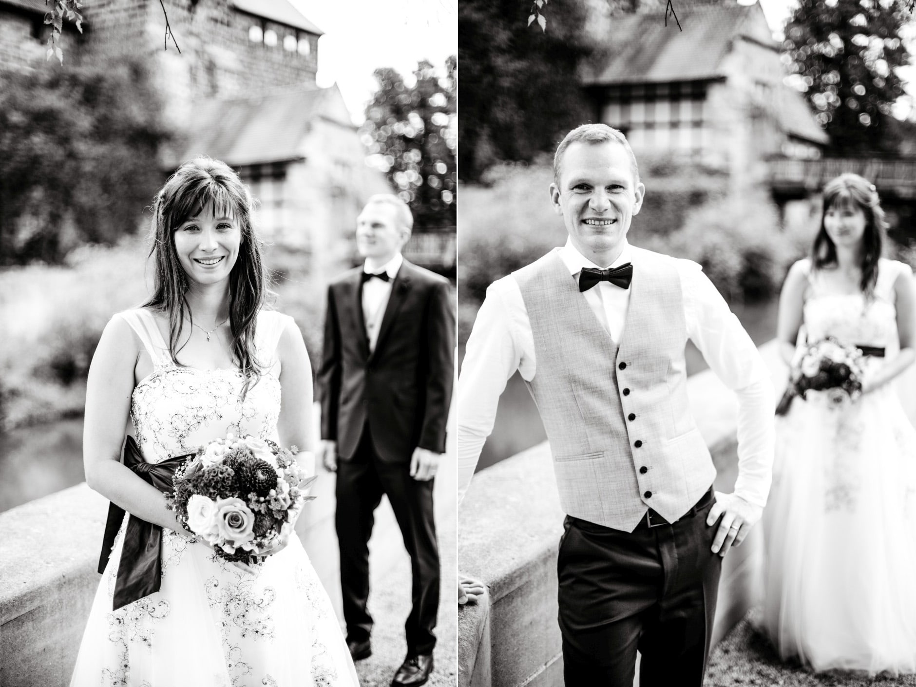 Brautpaar Portrait Wenzelschloss