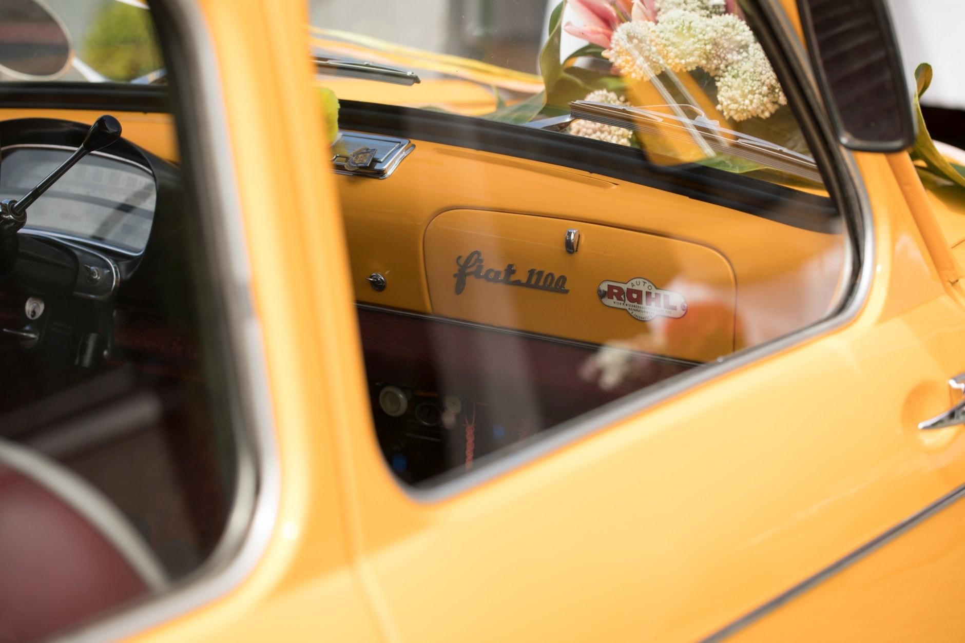 Fiat 1100 Hochzeitsauto
