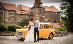 Hochzeitsfoto Wenzelschloss Lauf an der Pegnitz