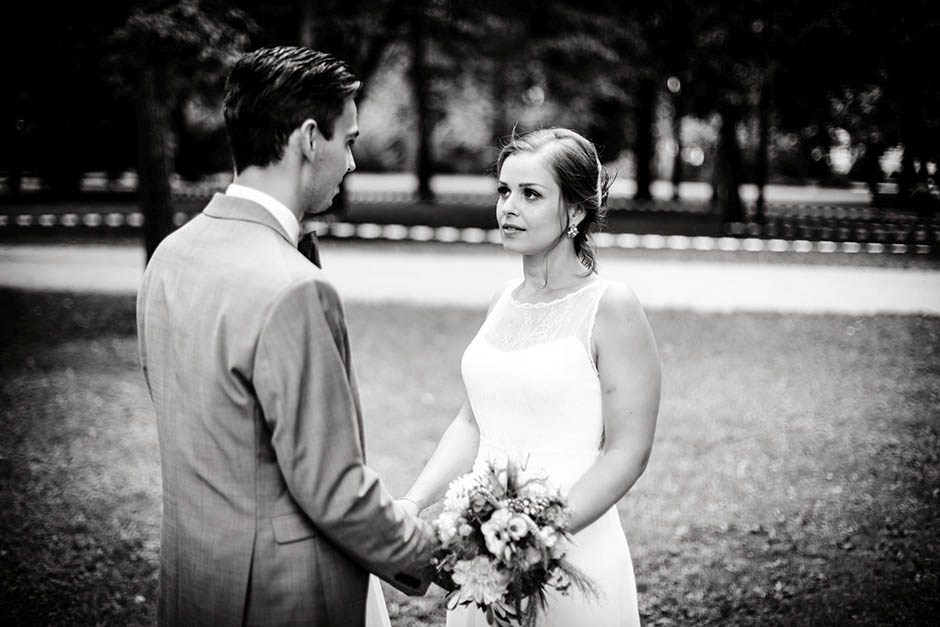 Hochzeit in Erlangen im Stadtpark