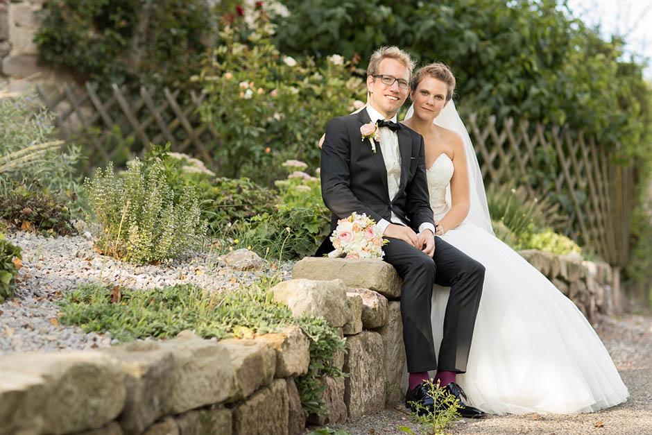 Paarshooting mit Brautpaar