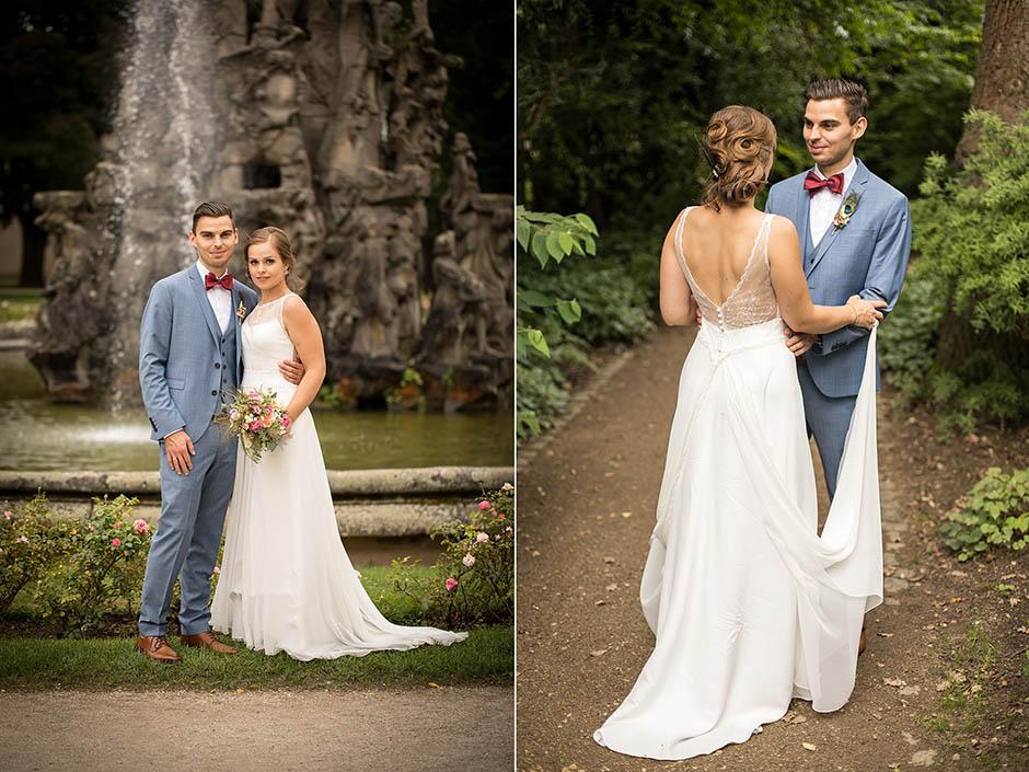 Hochzeitsshooting im Stadtpark Erlangen