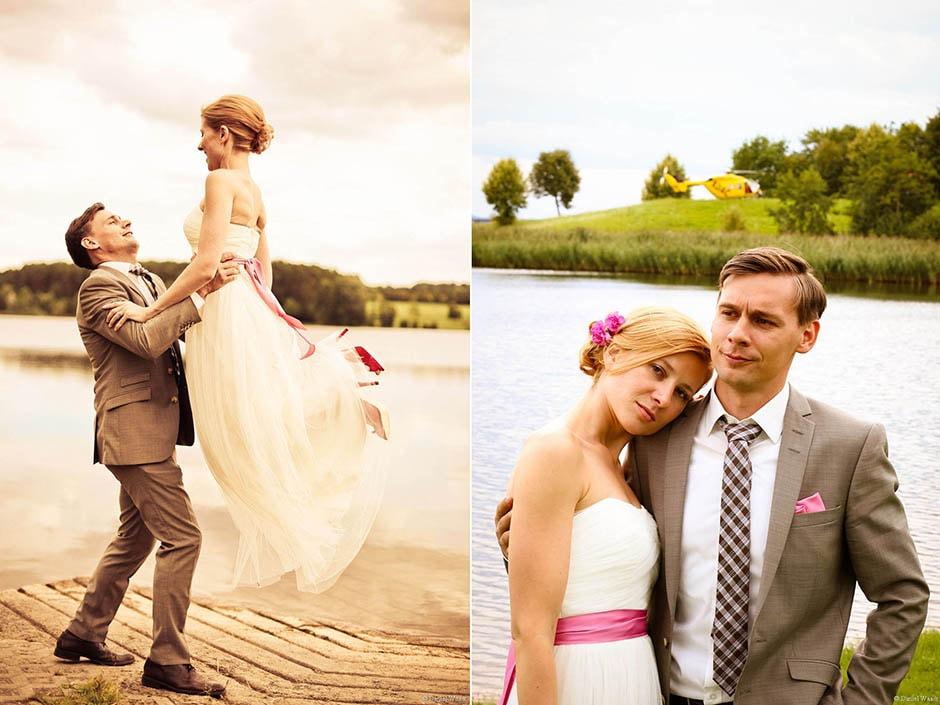 Braut Hebefigur am Rothsee