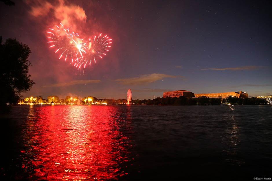 Volksfest Nürnberg Feuerwerk