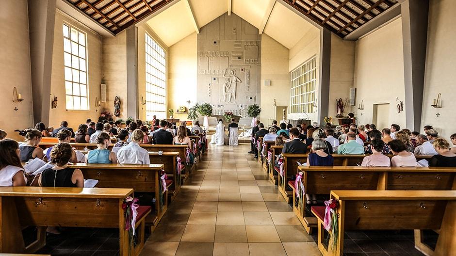 Kirche in Cadolzburg Hochzeit