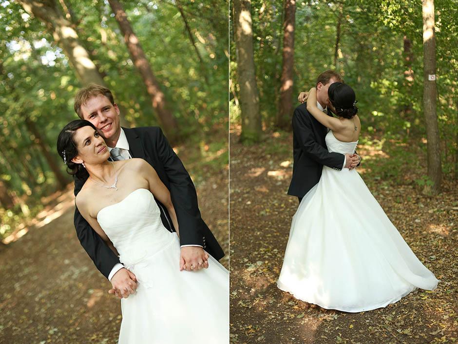 Hochzeitsfotograf Nürnberg: Wald beim Schießhaus Nürnberg