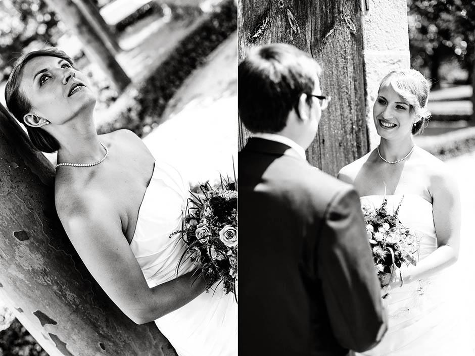 Fotoshooting Schwarz-Weiß