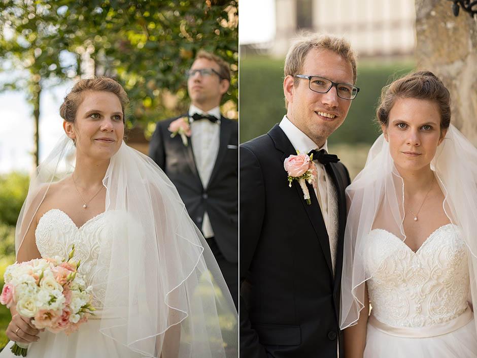 Hochzeitsfotografie mit Brautpaar