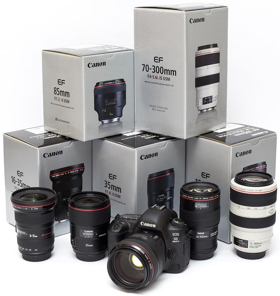 Canon Equipment Hochzeit