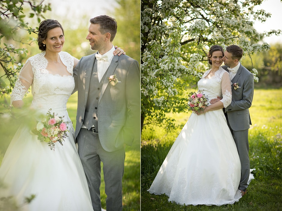 Hochzeit Brautpaar Portraits