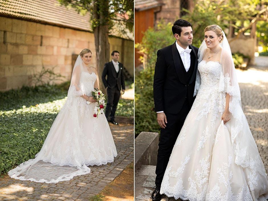 Brautpaar Nürnberg Brautstrauss
