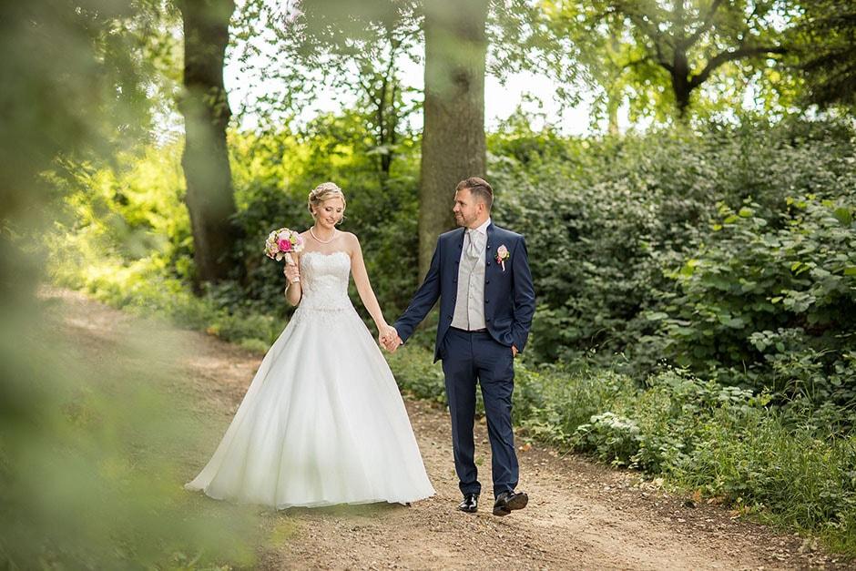 Brautpaar Wald Natur