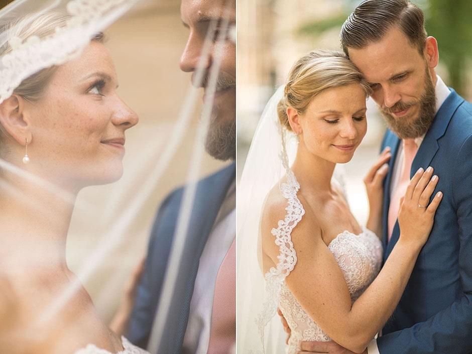Brautpaar-Hochzeitsfoto