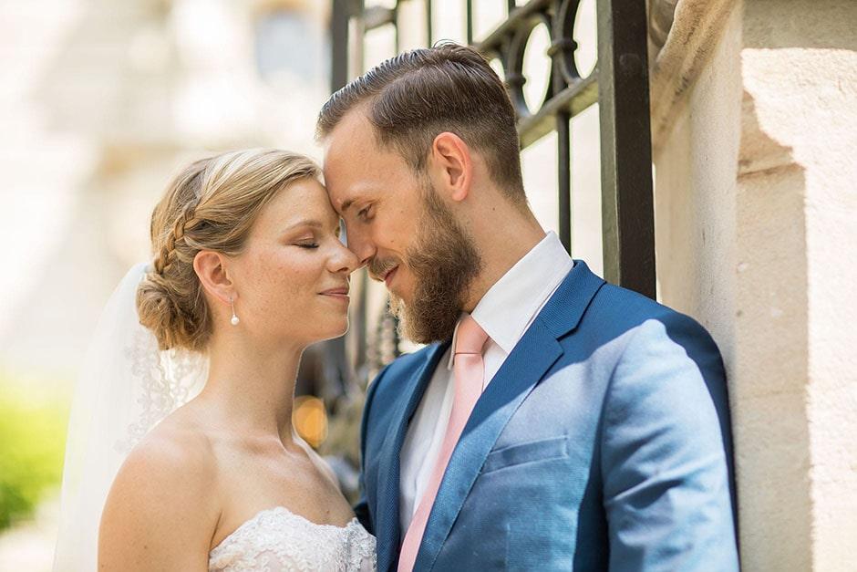 Logensaal-Brautpaar