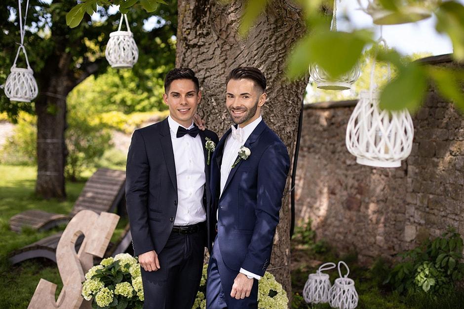 Hochzeit Männer