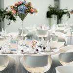Sitzplatz für den Fotografen an der Hochzeit